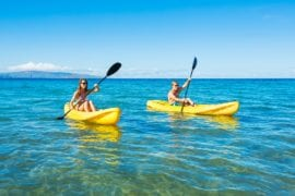 Guided Kayak & Snorkel Adventure | Makena Bay | Waikiki Adventures