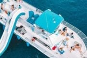 Swim with Dolphins Boat Drone