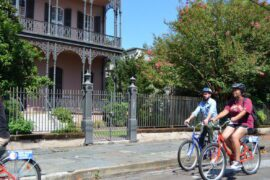 French Quarter and Garden District Bike Tour